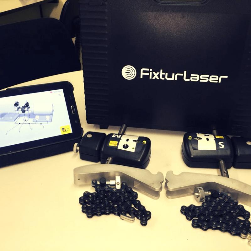 Alinhador a laser Fixtulaser